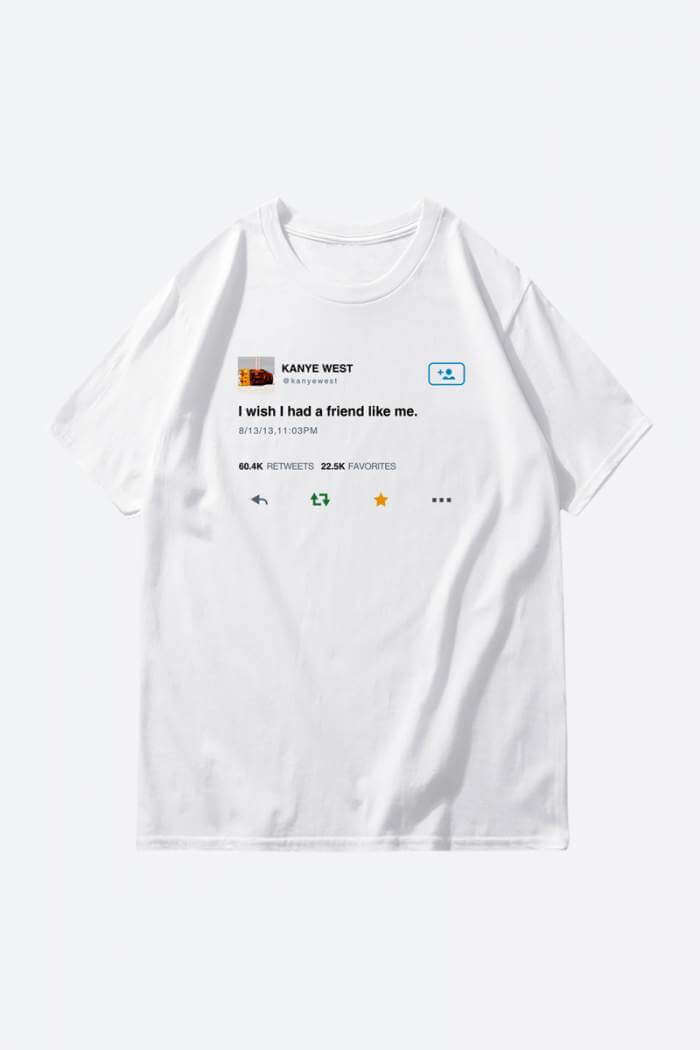Kanye West Tweet T-shirt