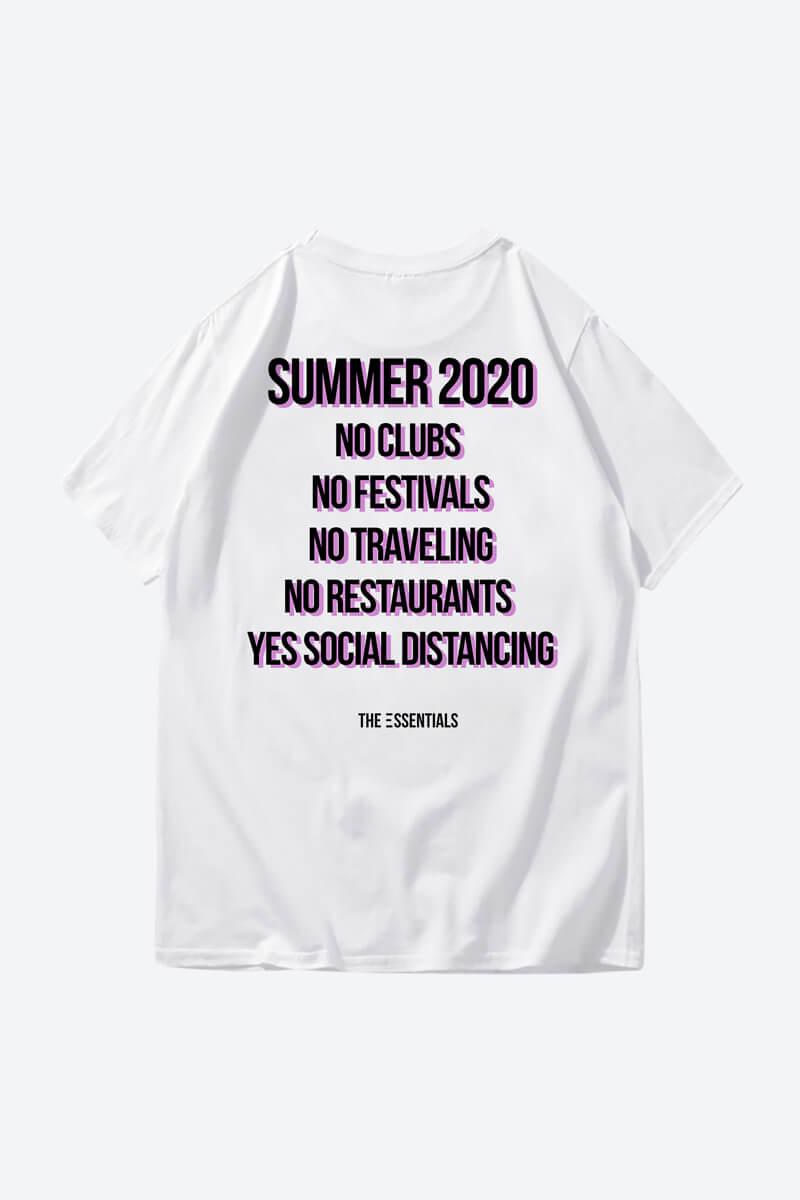 minimalist white t shirt