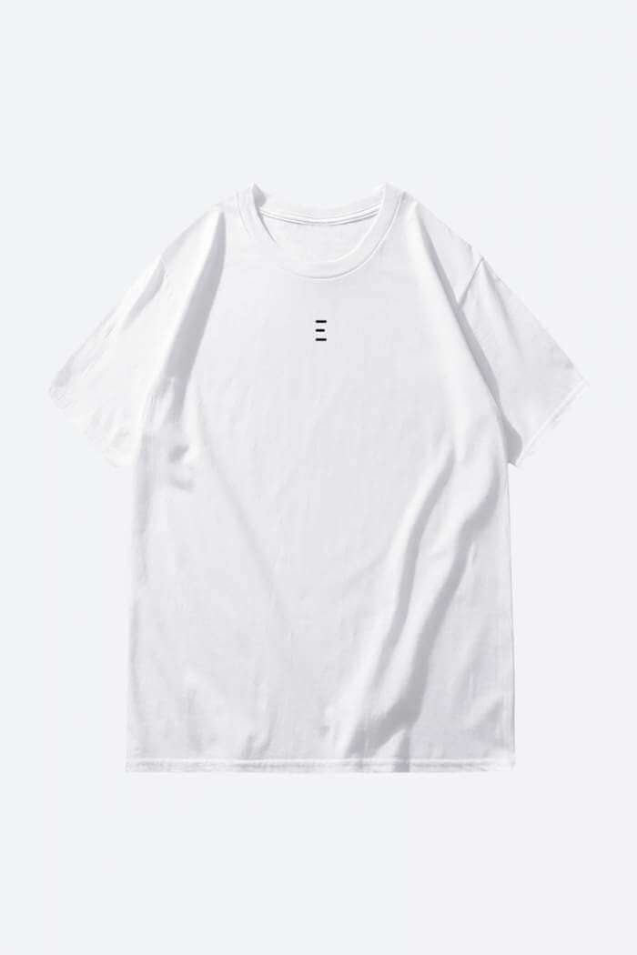 Buy White Cool Plain t-shirt
