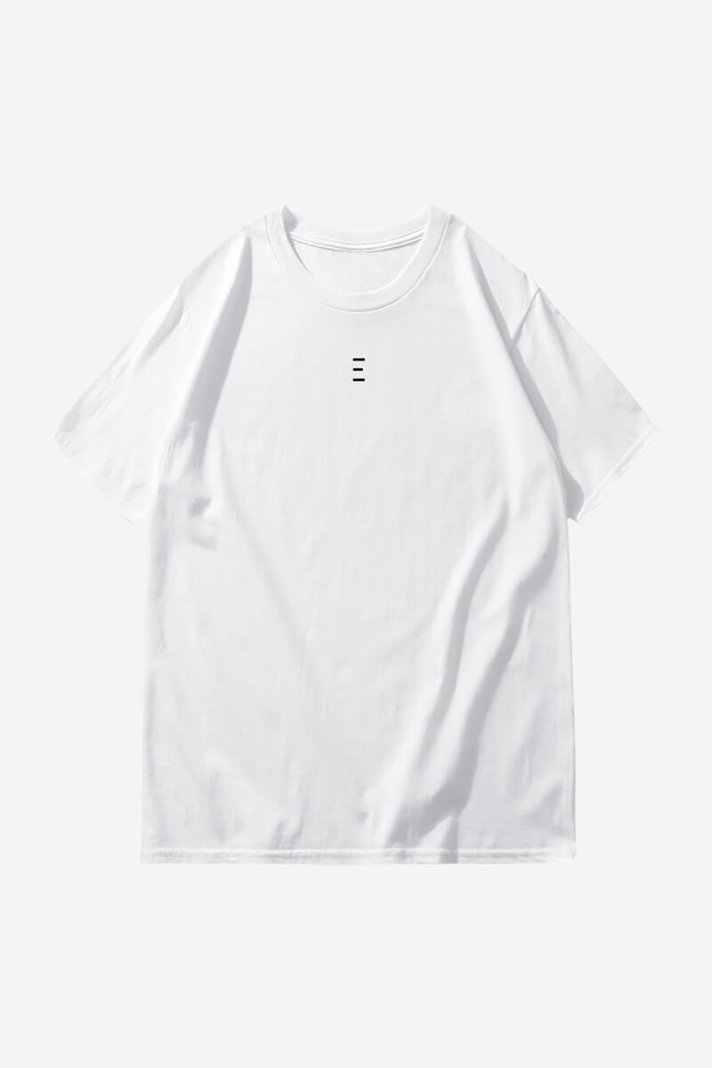 Buy White Cool Plain t-shirt