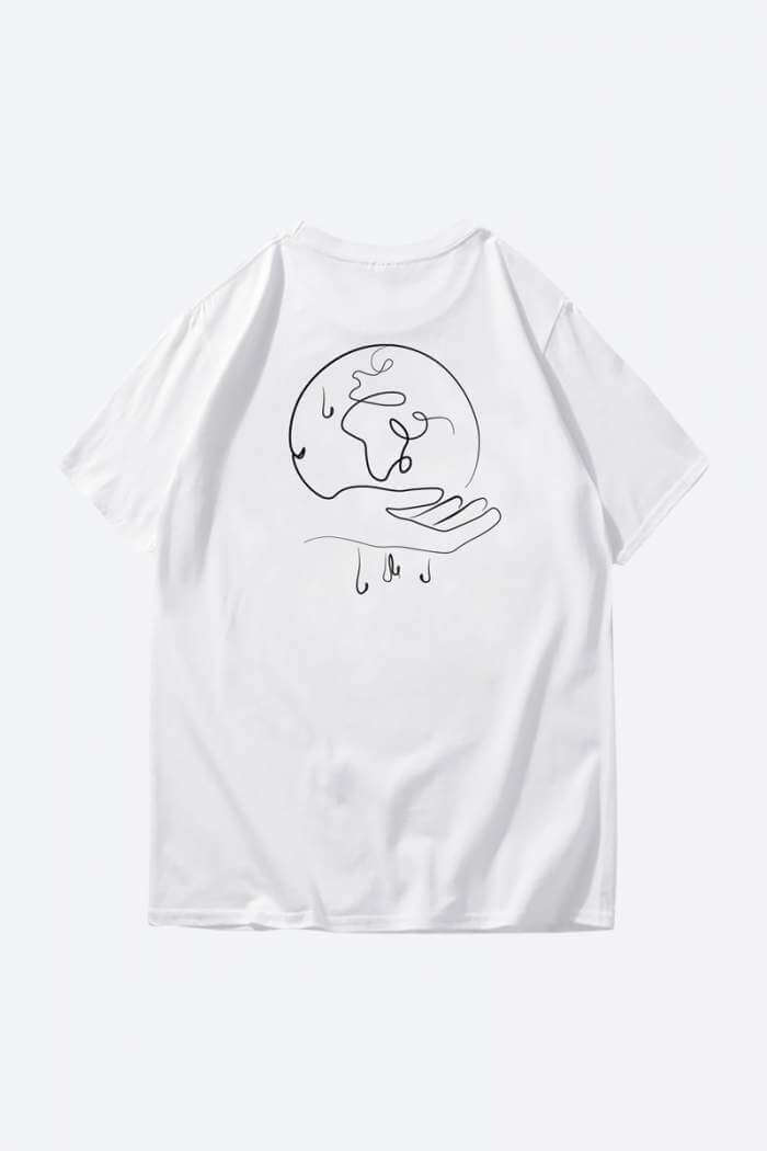 Shop Cool White T-Shirt Designs