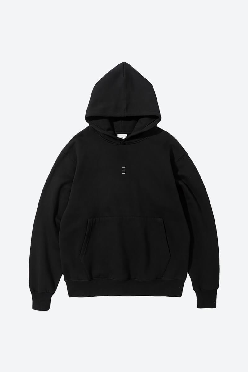 Minimalist Black Line Art Hoodie
