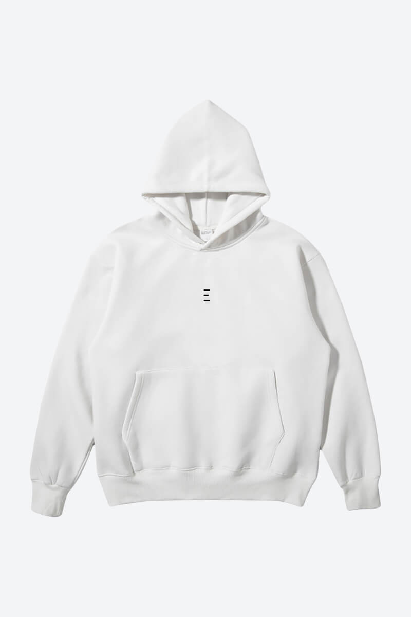 Buy White Cool Plain hoodie