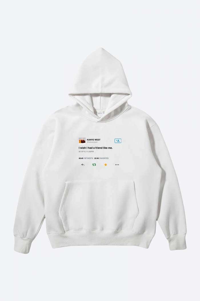 Kanye West Tweet Hoodie